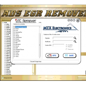 2017 DTC DPF EGR Remover 3 In 1 Full Version Ecu Tuning Software